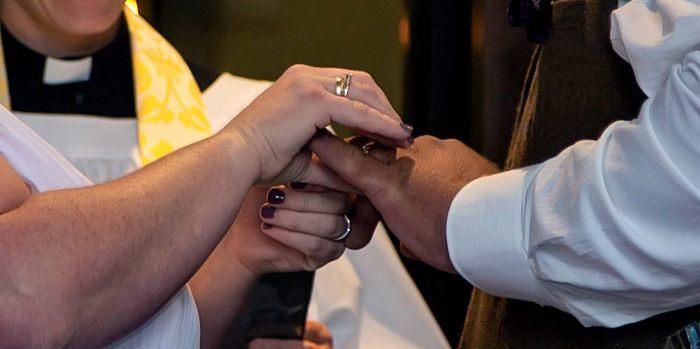 hands marriage