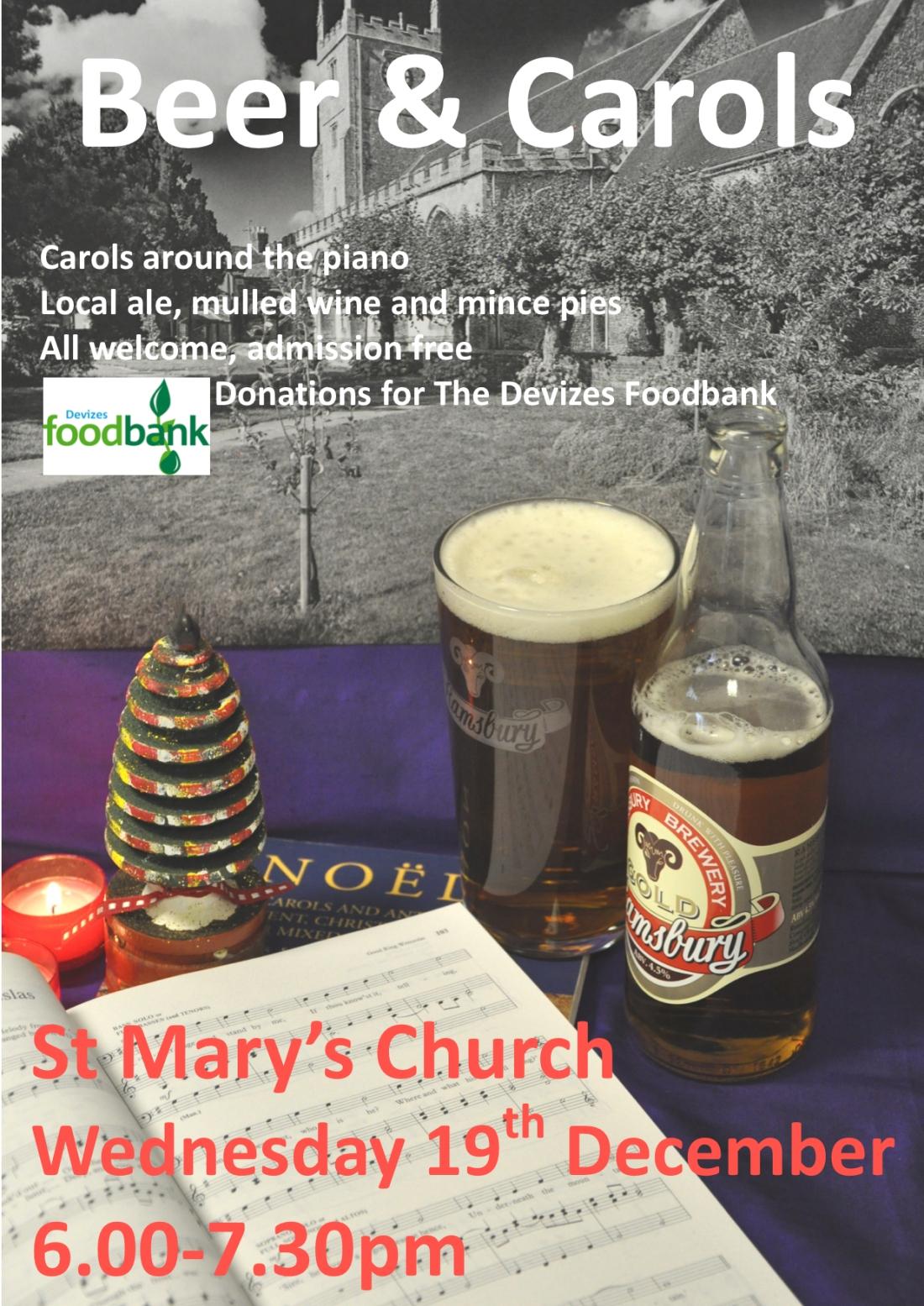 Beer and carols