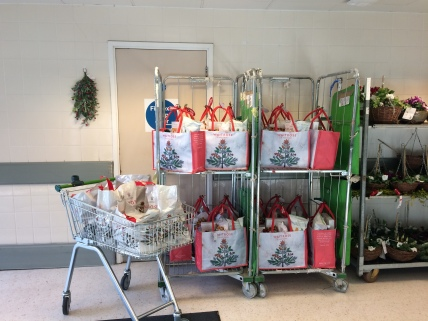 More hampers for families